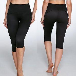 Spanx Smoothing Capri Leggings in Black